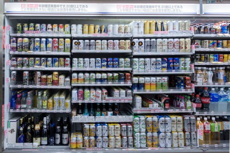 Alcohol, japan, convenience store