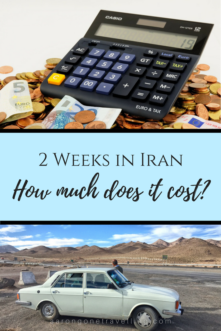 Going to Iran but don't know how much does it cost! This budget breakdown will definitely help you out!