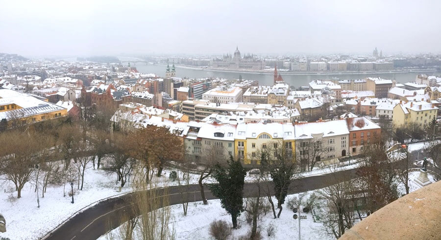budapest, snow, budapest in snow, white, budapest parliament building