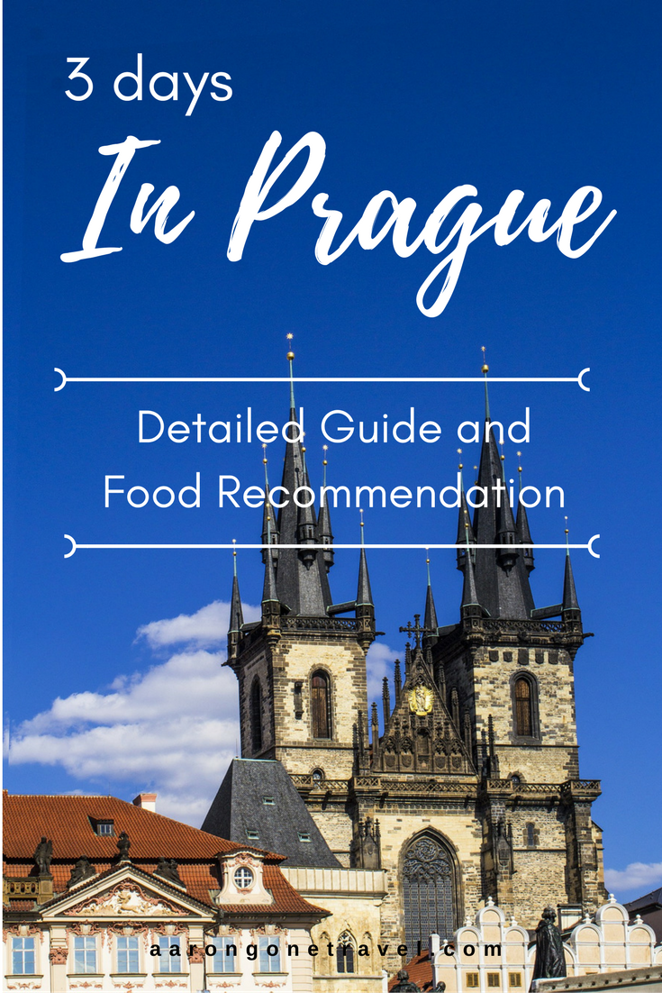 Going to Prague soon and don't have too much time? Check this Prague Itinerary out!