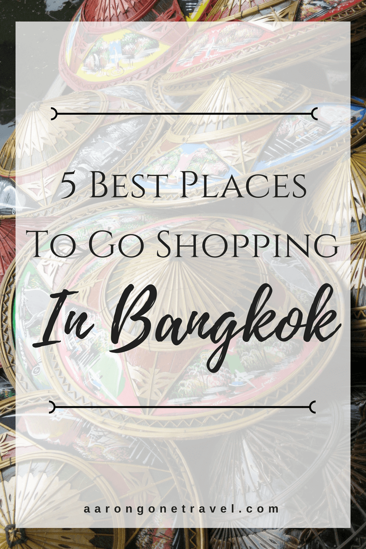 Shopping in Bangkok is one of the best in Asia because it's so cheap! Check out the 5 places that you have to go if you wanna go on a shopping spree while in Bangkok!