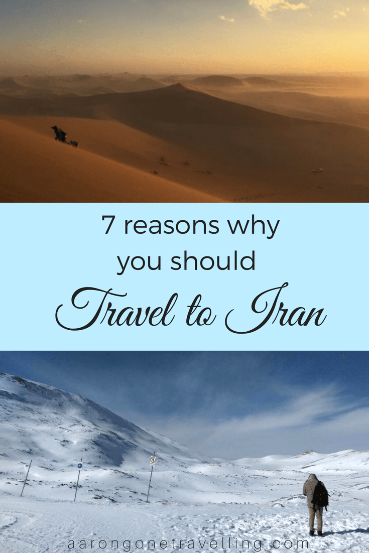 Iran is probably the best country that I've been so far. Check this article out to know why!