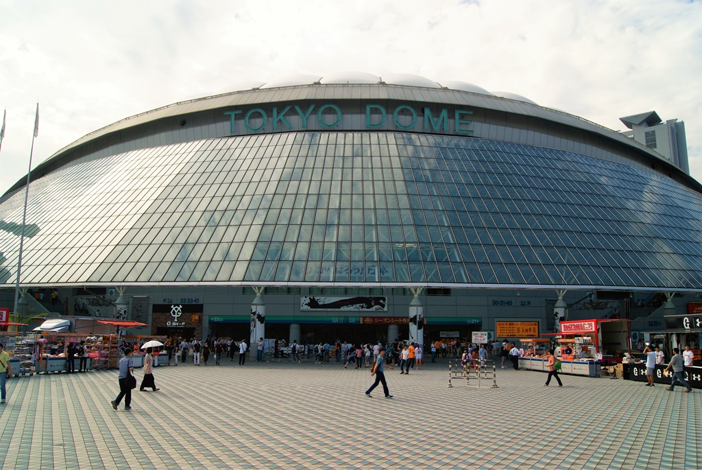 Tokyo dome during sunset cheap things to do in tokyo