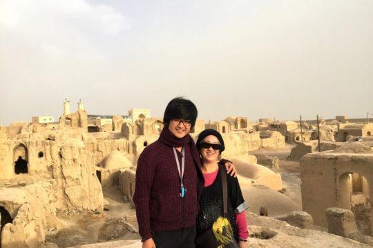 citadel, varzaneh, iran trip