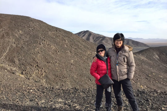 Iran, varzaneh, volcanic mountain, black mountain, cold