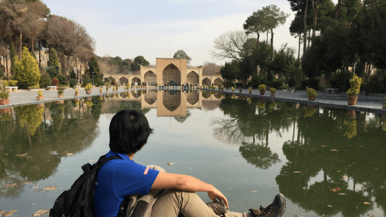 chehelsotoun palace, reflection, isfahan, travel