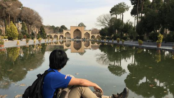 chehelsotoun palace, reflection, isfahan, travel