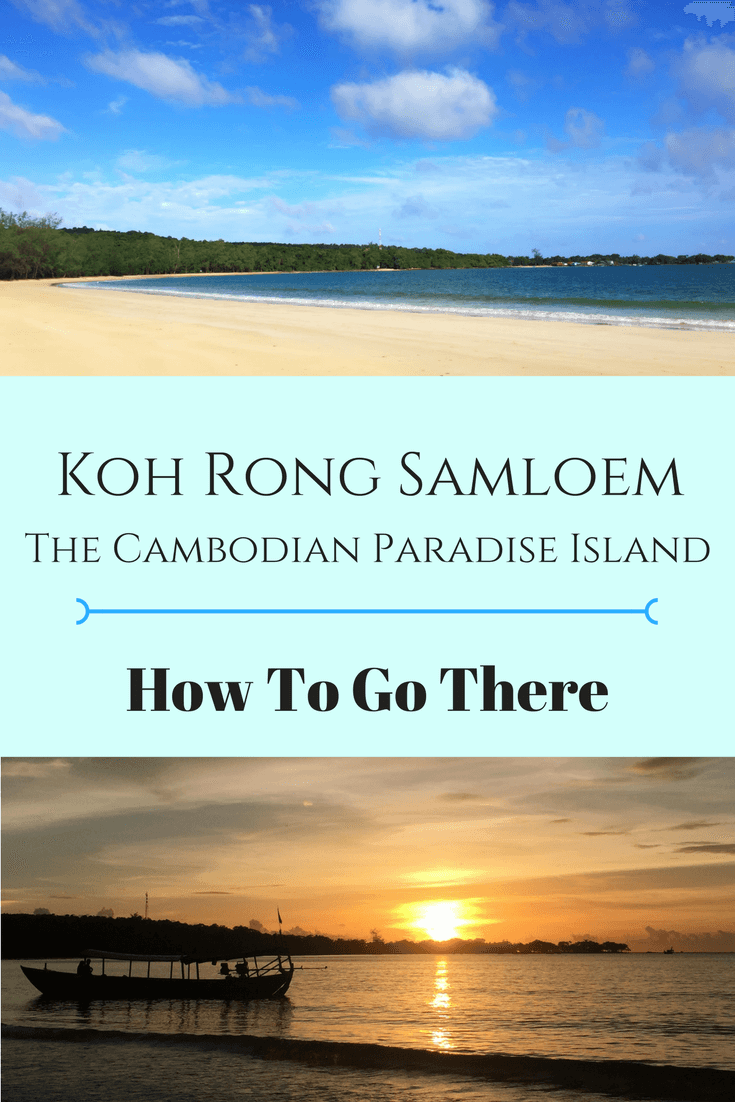 For just 5 USD you can wake up to the most beautiful island in Cambodia! Koh Rong Samloem is called the Paradise Island for a reason!