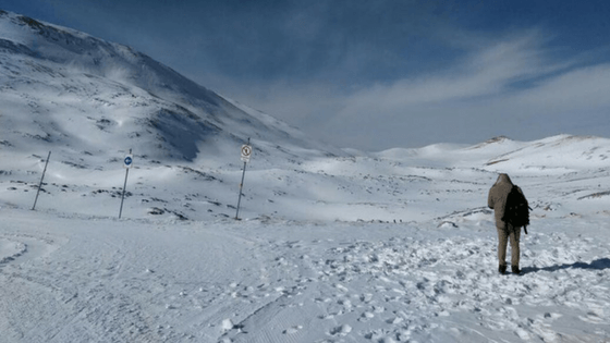 how to go to Tochal, snow, station 7, winter, ski