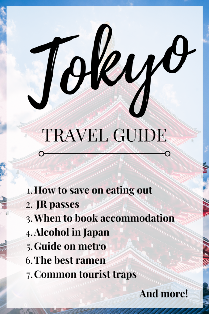 Going to Tokyo soon? Plan better using this Tokyo Travel Guide! Tokyo Itinerary | Tokyo Travel Itinerary | Tokyo Wanderlust | Tokyo Travel Destination | Travelling in Tokyo | Tokyo Travel