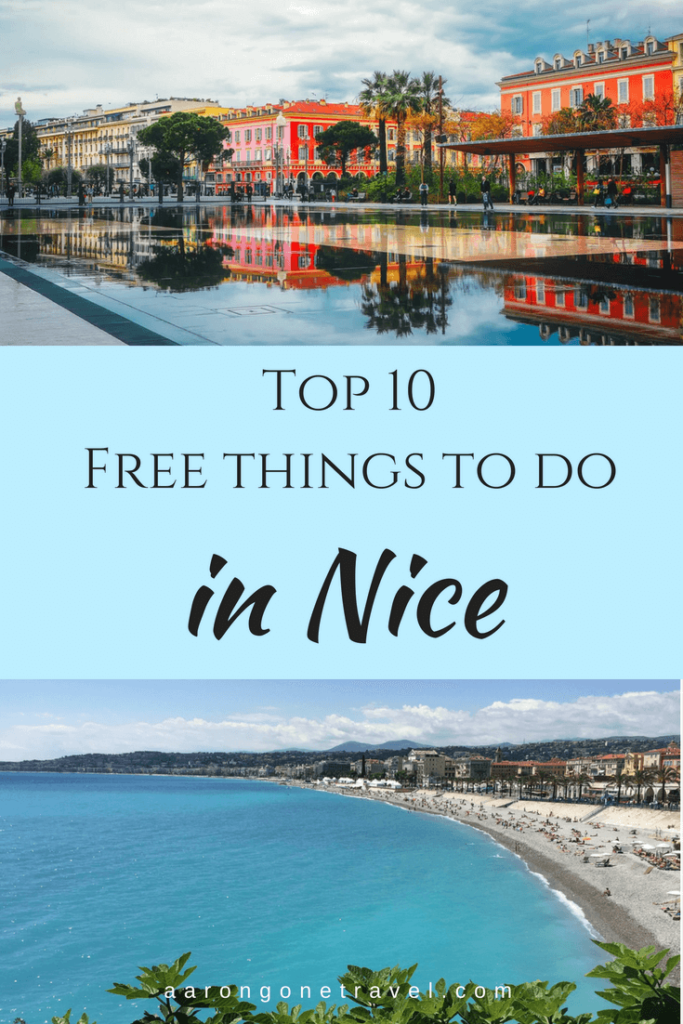 Nice doesn't have to be expensive to be enjoyable! These are the top 10 free things to do in Nice to keep your wallet in shape and still enjoy the beautiful French Riviera!