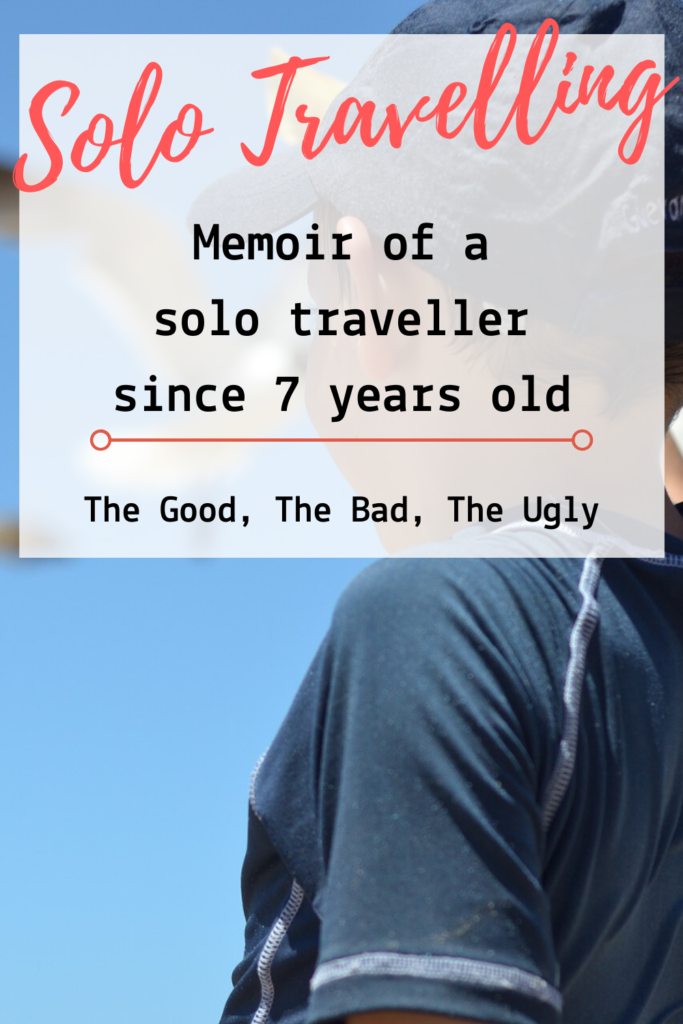 There's a million reasons why I love solo travelling. Here is a memoir from a child that has been travelling solo since he was 7 years old. #solotravel #travelblogger #wanderlust #travellifestyle #solotraveller