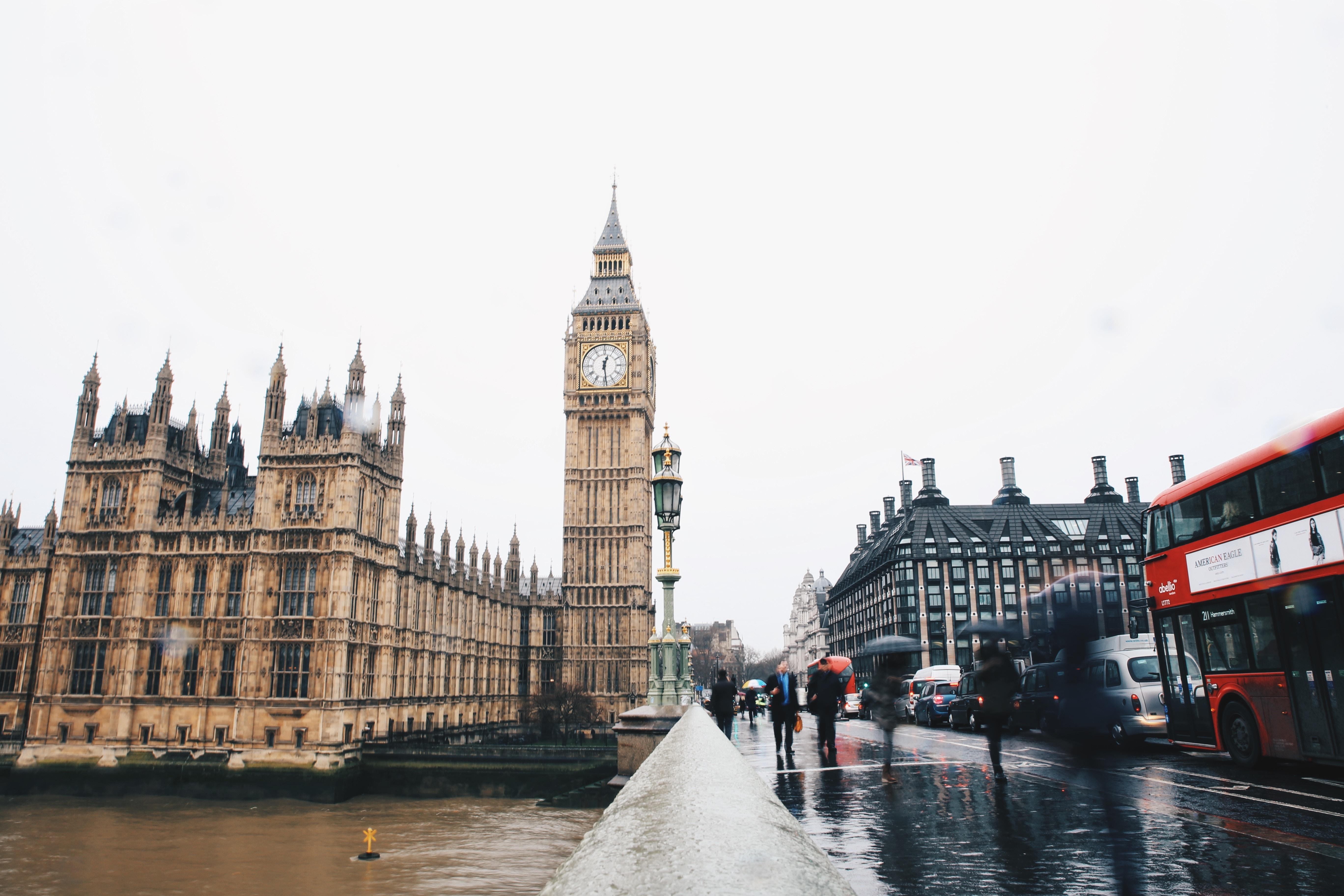 London, tower, clock, attraction, bridge, big ben