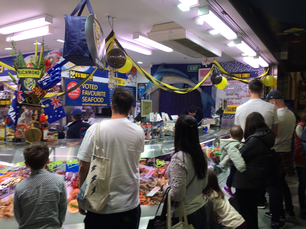 south melbourne market, Aptus seafood, lobster, oyster, mussel