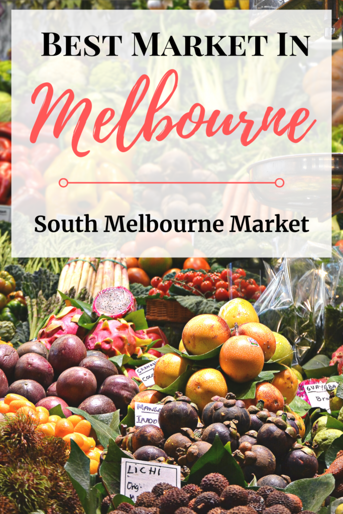 The best market in Melbourne has to be South Melbourne Market! The food, the produce, the life and everything else just overwhelm all your senses! #melbournetravel #australiatravel #markets #foodie