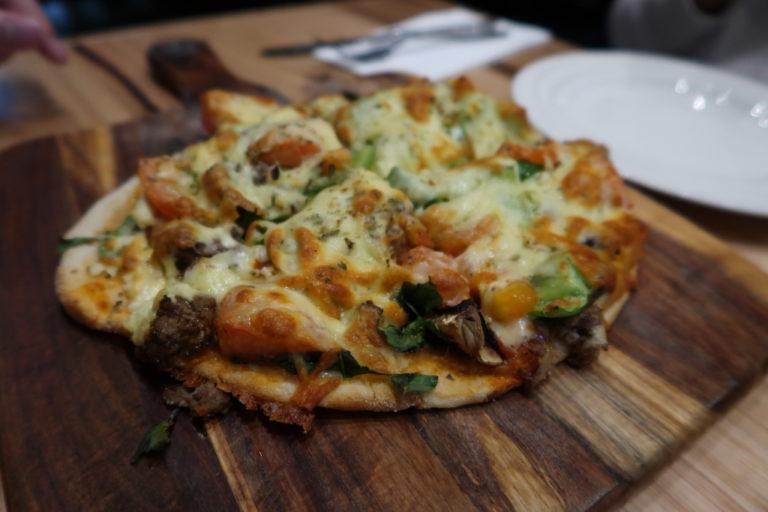 Turkish pizza. It's really good.