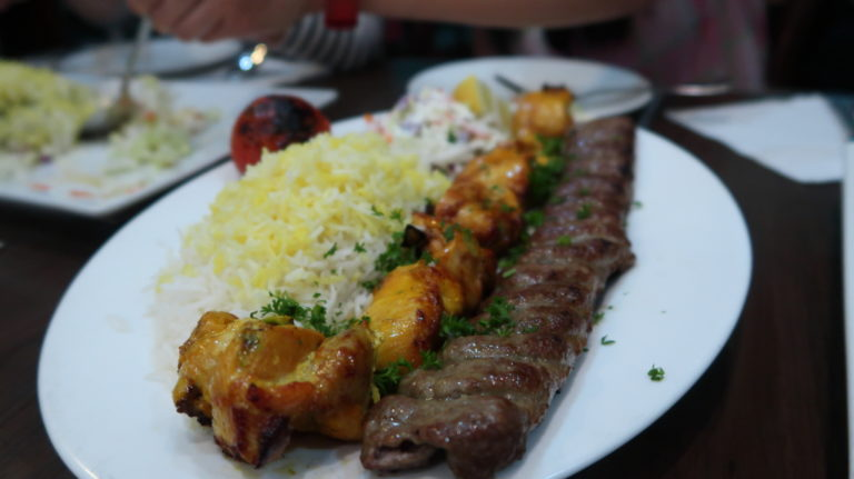 The kebab is a must try!
