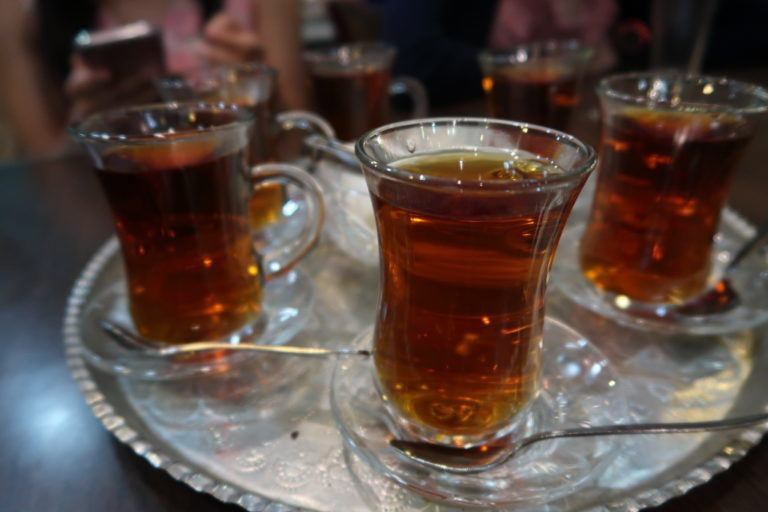 Have some Persian tea to wash it all down!