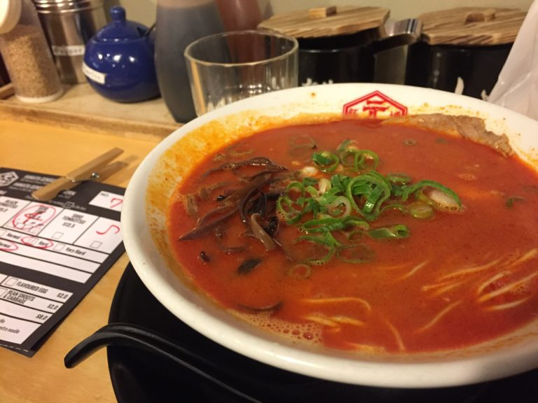 If you are a bit more adventurous, you must try the spicy version!