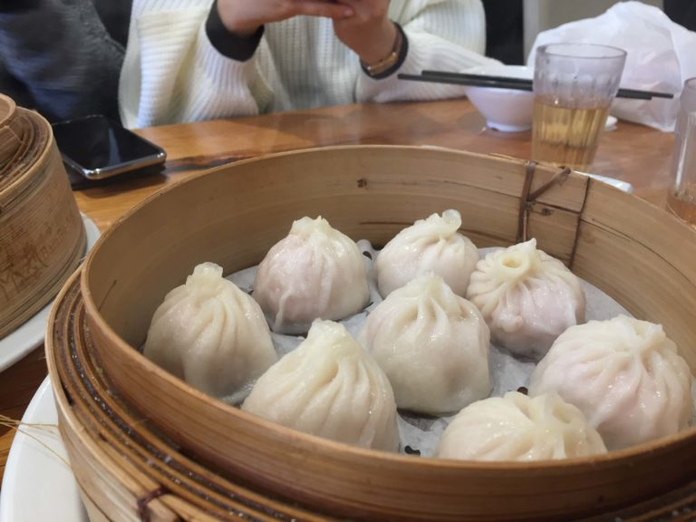 The must-order when you are here, Xiao Long Bao.