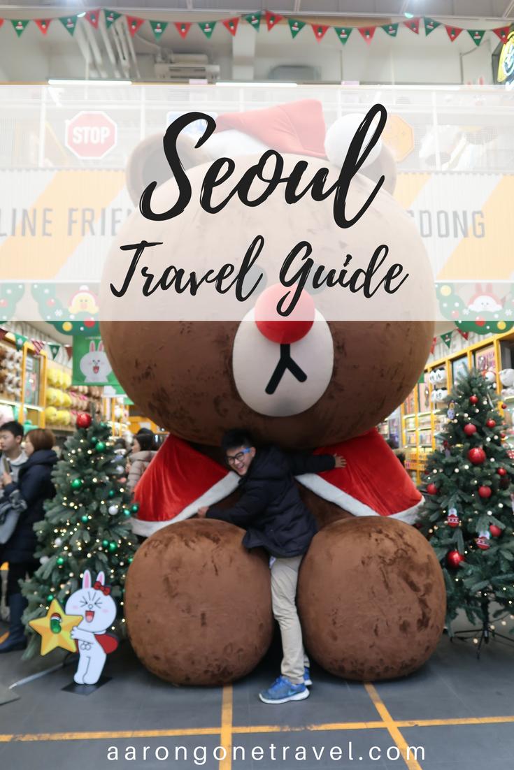 Seoul travel guide, Korea, student budget