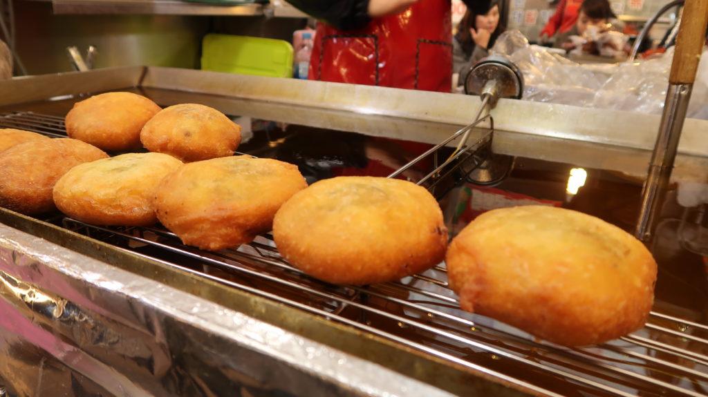 hotteok, korean, street food, seoul