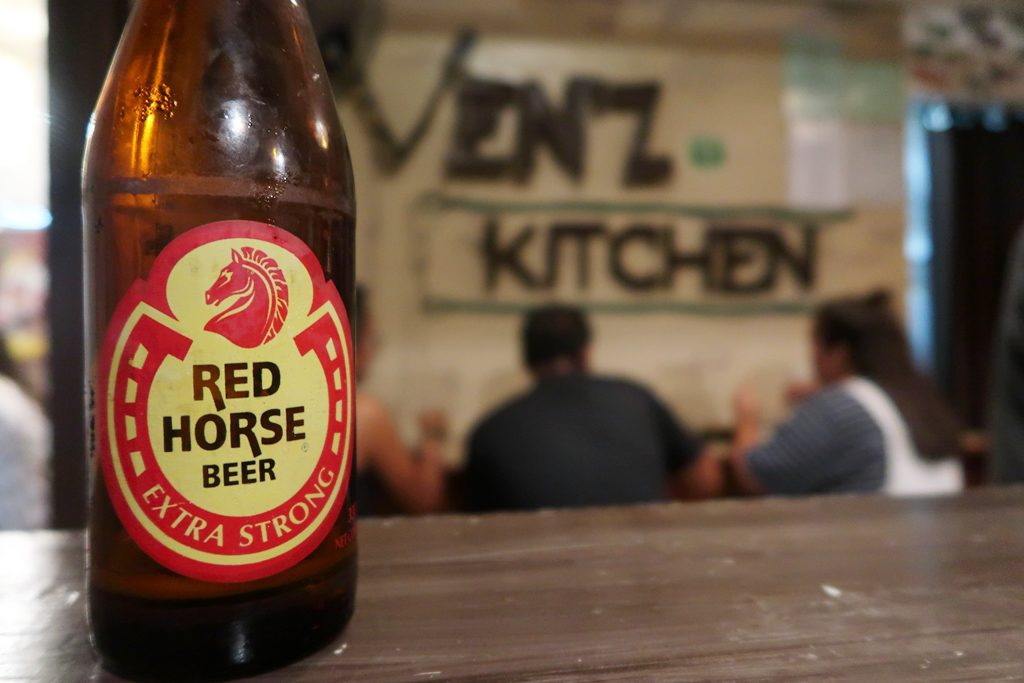 red horse, cebu, venz kitchen, philippines, Moalboal