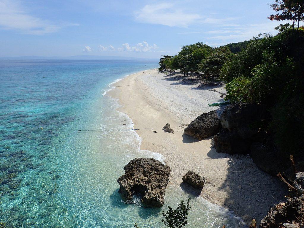 beach, cebu, philippines, sand