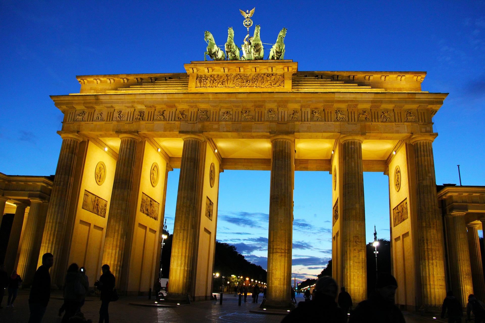 berlin, germany, brandenburg gate