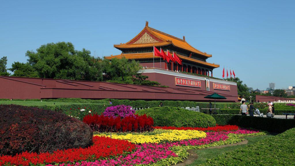 tiananmen beijing china gate