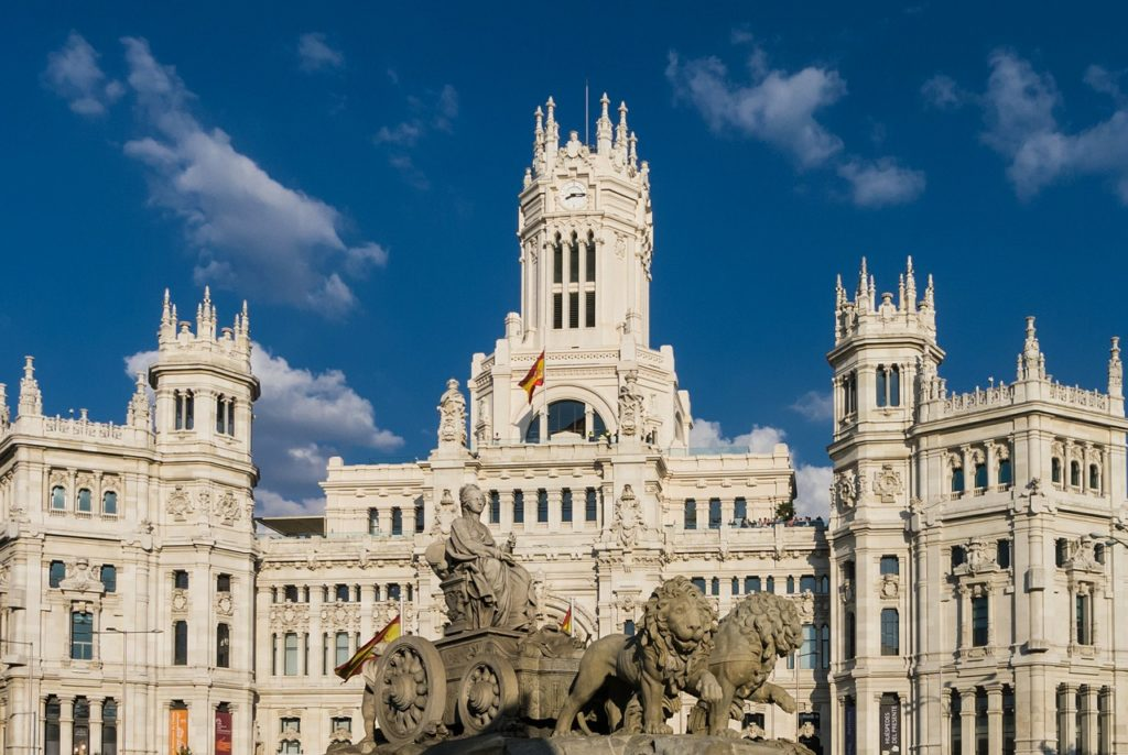 #madrid #spain #building #palaciodecibeles #palace