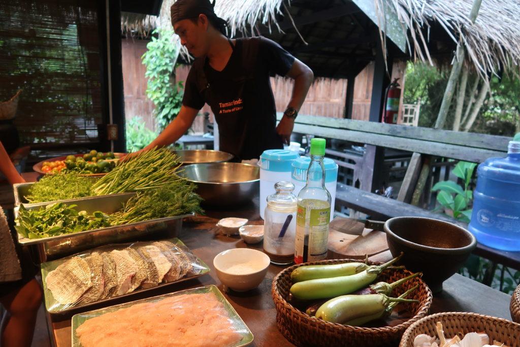luang prabang, cooking class, Tamarind