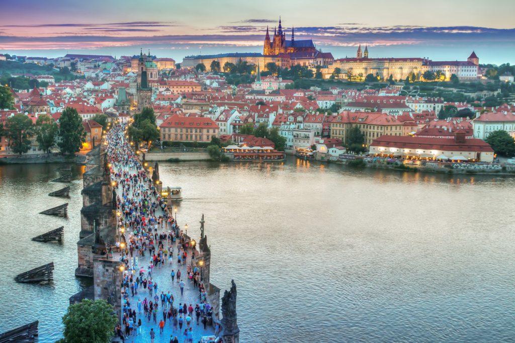 prague, beautiful, charles bridge, hrad, czech republic