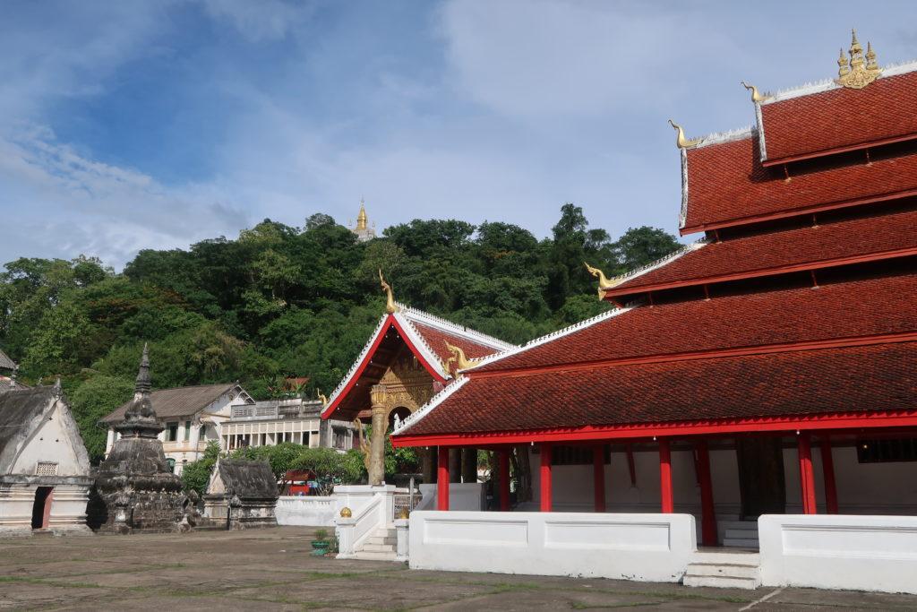 wat, temple, luang prabang, laos