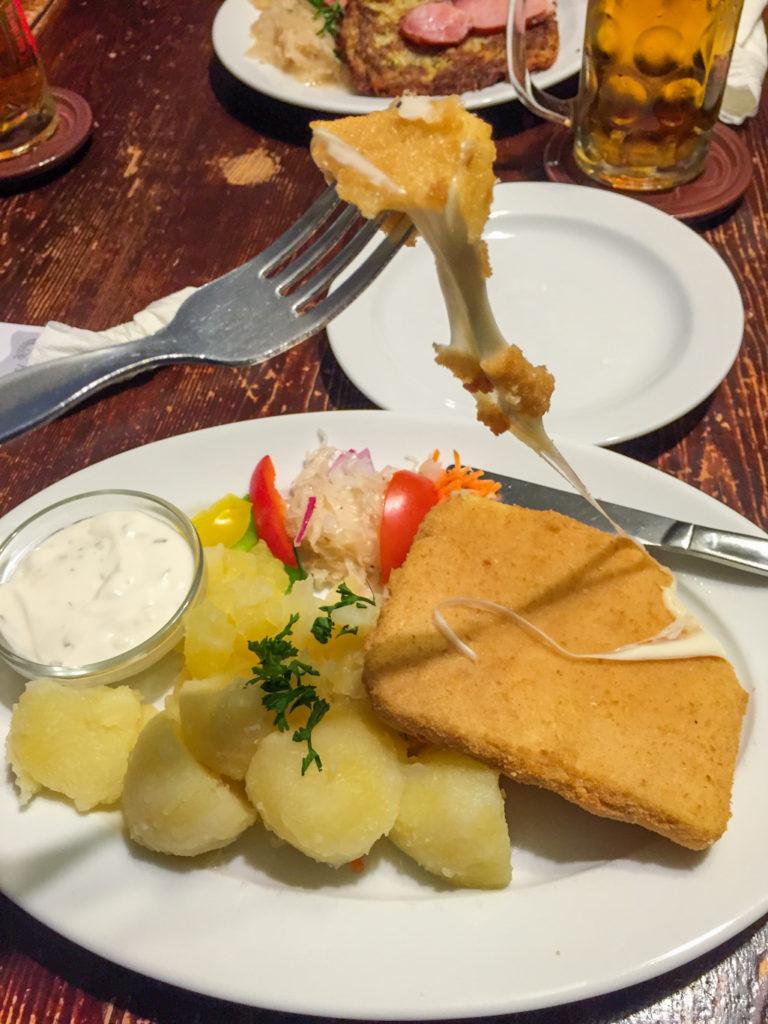 czech cuisine fried cheese