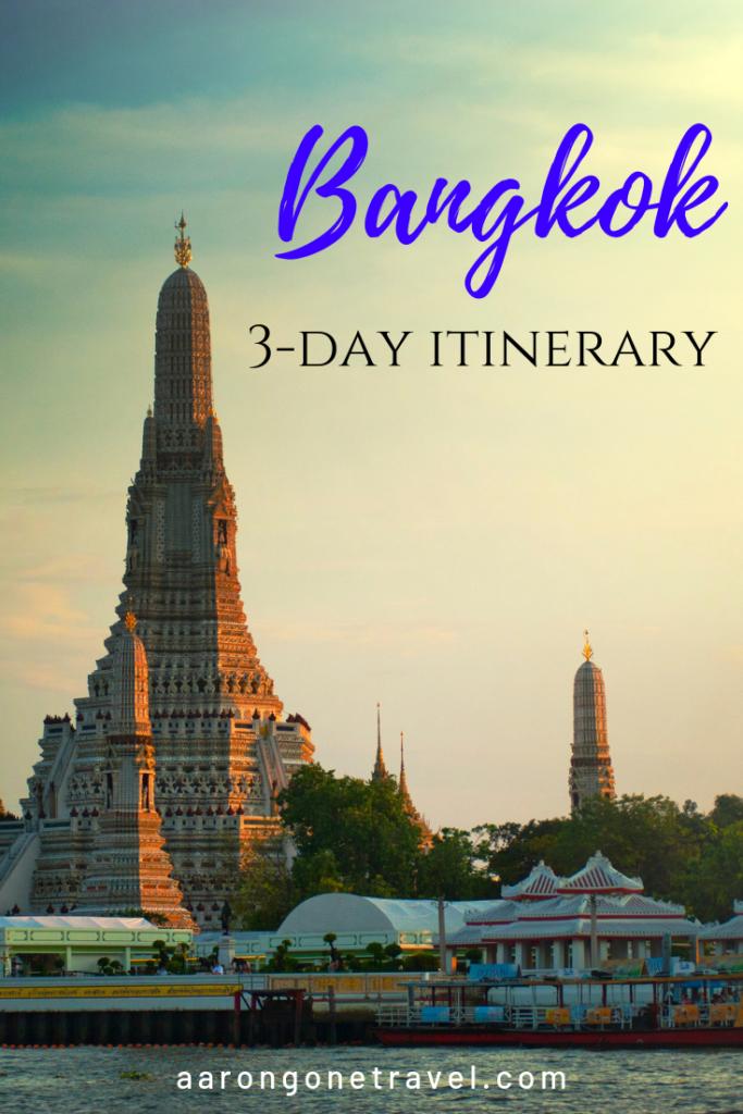 bangkok, itinerary, travel, thailand, 3 days