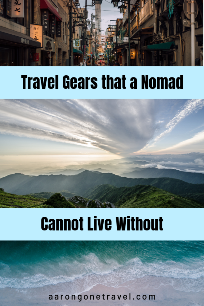 travel gears, nomad, essential
