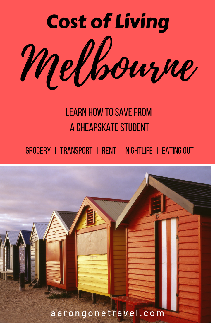 Cost of Living in Melbourne is expensive. However, with this guide, you will be able to live in Melbourne as cheap as you possibly can get! Check out this comprehensive guide written by a true local and how to really save money living in Melbourne! #Melbourne #expat #australia #costofliving