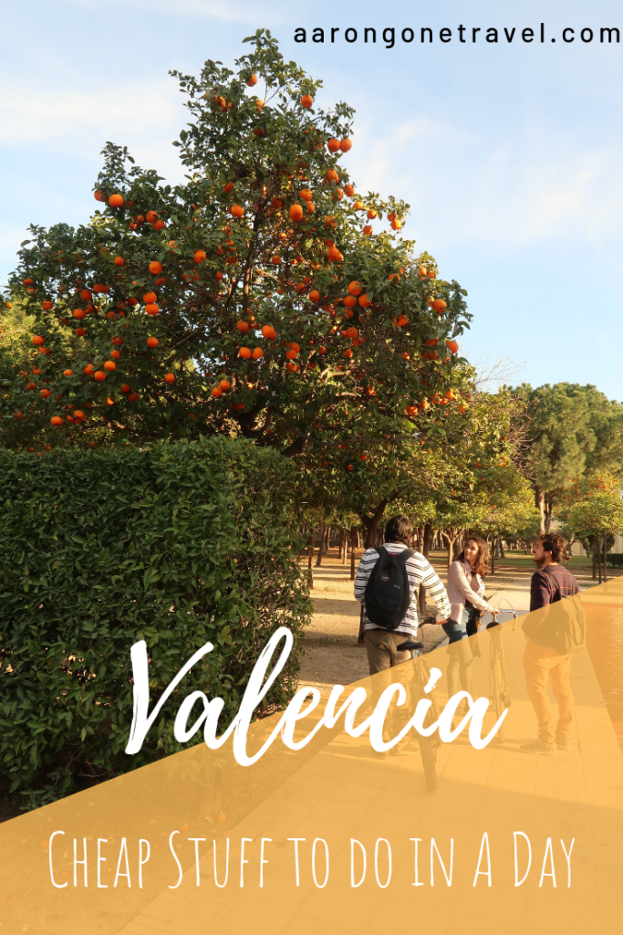 Going to Valencia on a budget? Make sure you check out this guide on how you can do a perfect walking tour in Valencia on your own! The route is carefully planned so that you make the most out of your day! Check the restaurant recommendations as well (selected by a local) and where is best to stay! #valencia #spain #itinerary #travelguide