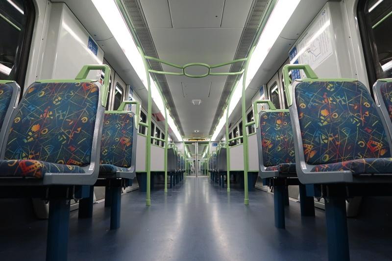 Public train PTV living in Melbourne