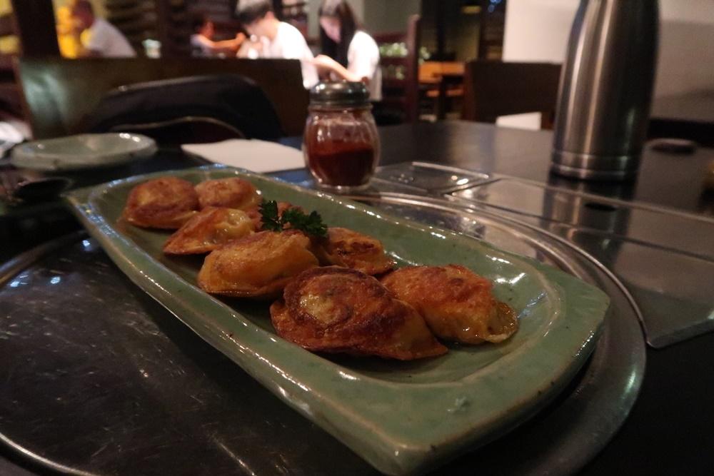 Kimchi dumpling mahndoo, Melbourne
