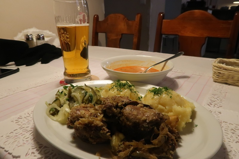 where to eat in krakow chicken liver with beer kuchnia domowa