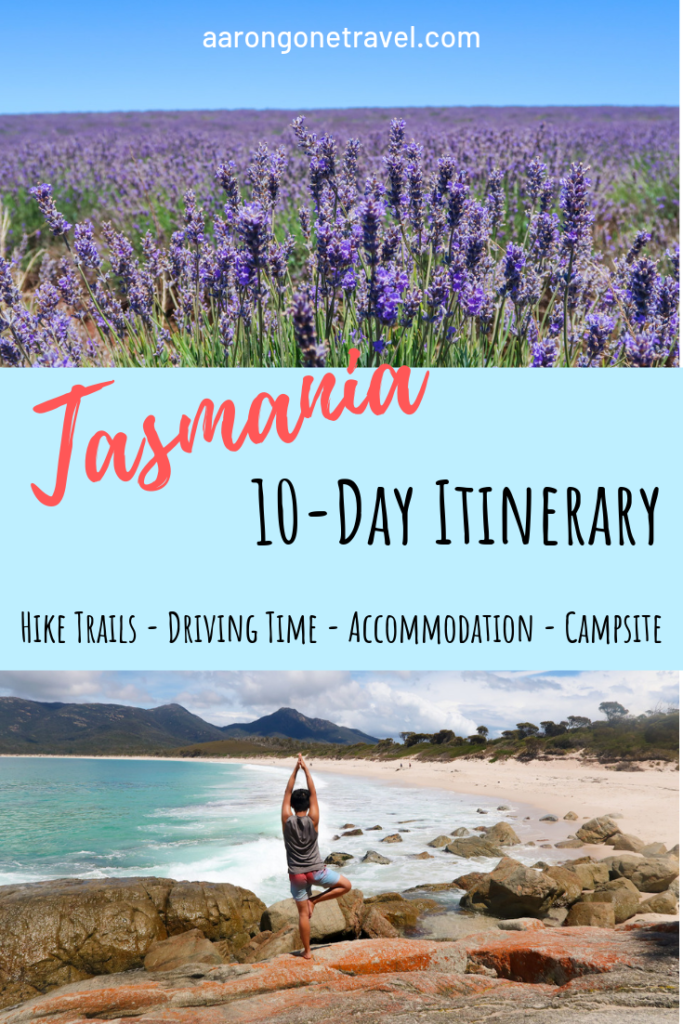 Going to Tasmania for 10 days? Check out this Ultimate 10-Day Itinerary Tasmania!! It is carefully curated and contain multiple hike trails, driving time, accommodation options, camp site (and phone number), budget and more!