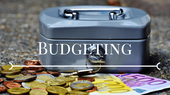 money box budgeting in euros