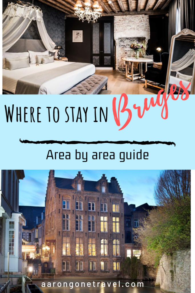 Wondering where to stay in Bruges? I highly urge people to stay for at least one night in Bruges because that way, you will be able to enjoy Bruges all by yourself in the evening and the next morning when people haven't arrived in Bruges! This are the best accommodation on where to stay in Bruges! #bruges #travel #wanderlust #europe