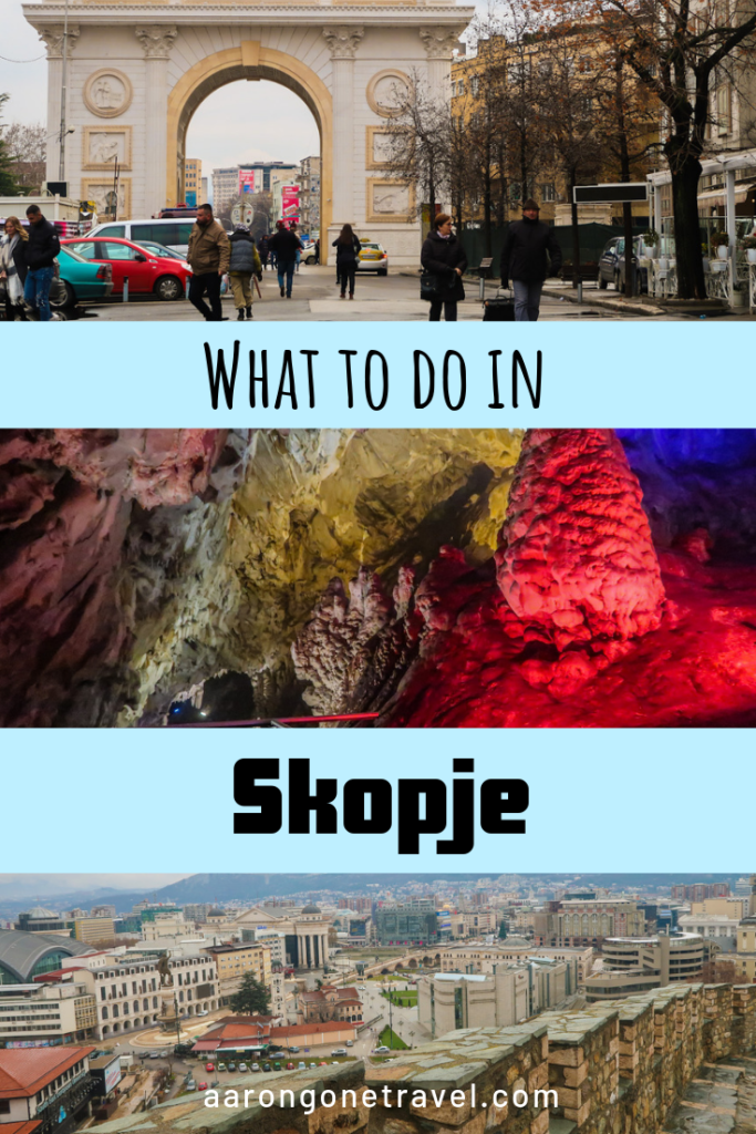Skopje is an underrated gem. If you figuring out what to do in Skopje, check this list out where I carefully curated it with a local tour guide (who is now my friend)! You will find some insider tips on what to do in Skopje, where to go, what to eat, where to stay and more! #skopje #balkan #easterneurope #northmacedonia