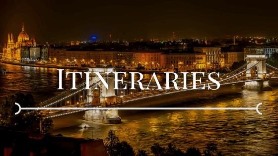 budapest at night itinerary