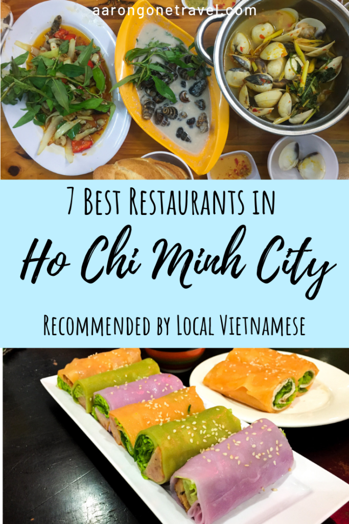 Going to Ho Chi Minh city soon? Make sure that you check out this list of 7 best restaurants in Ho Chi Minh city recommended by a local! It is really hard to get through the whole article without drooling! #hochiminhcity #saigon #vietnam #restaurants #vietnamesefood