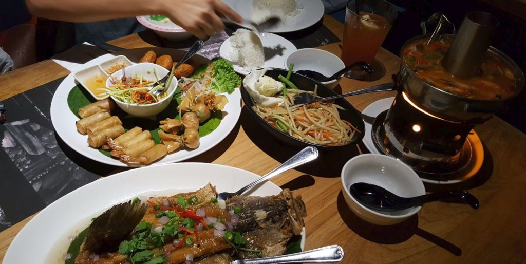thai thai - where to eat at sunway pyramid