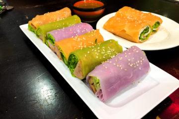 Phở Hai Thiền colourful vietnamese spring roll